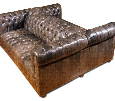 Double Chesterfield Sofa