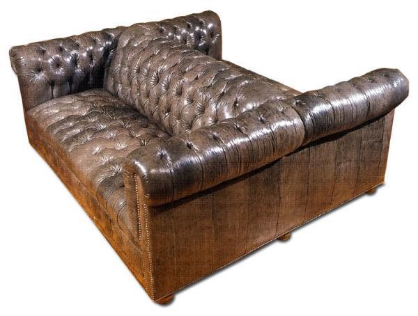 Double Chesterfield Sofa