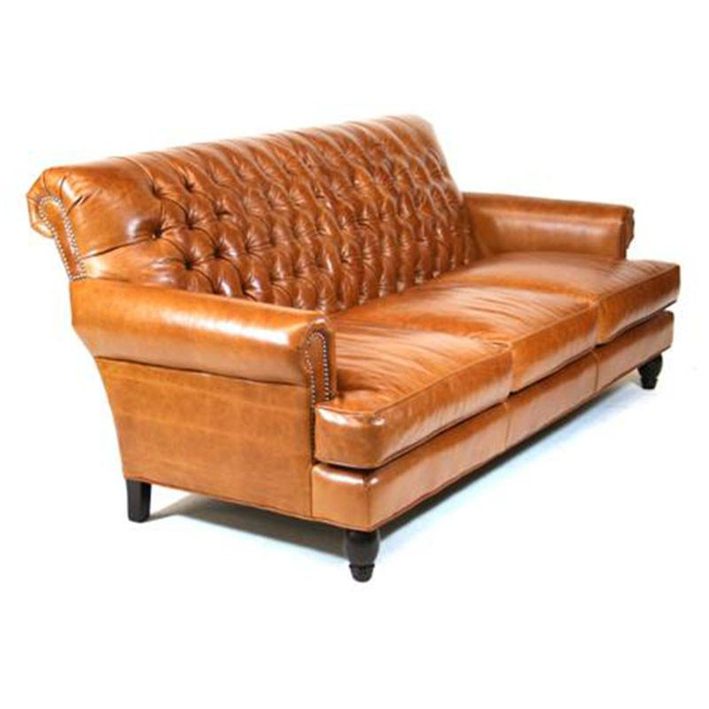 Leather Sofa Custom Built