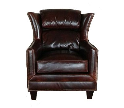 Hemingway Chair Brompton Cocoa Leather