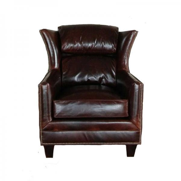 Hemingway Chair Brompton Cocoa Leather
